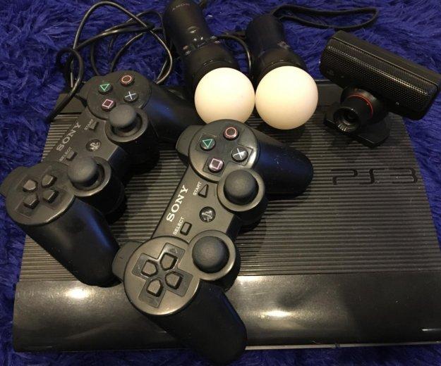 Sony playstation 3 super slim 500 gb. Фото 2.