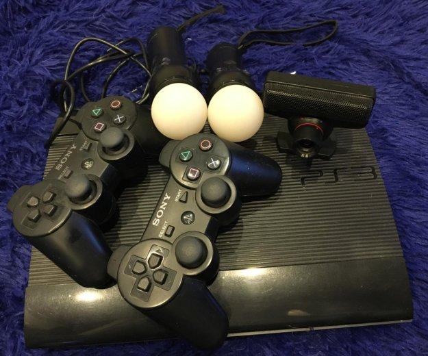 Sony playstation 3 super slim 500 gb. Фото 3.