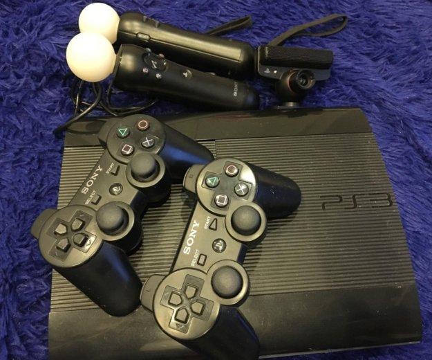 Sony playstation 3 super slim 500 gb. Фото 4.