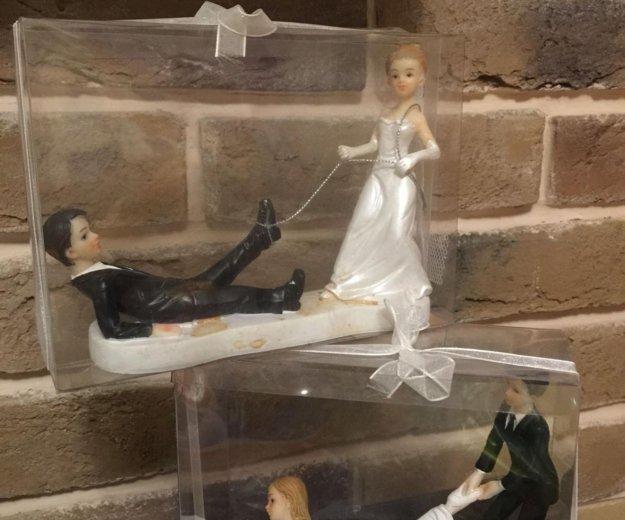 Свадебные фигурки для торта. Фото 1. Курск.