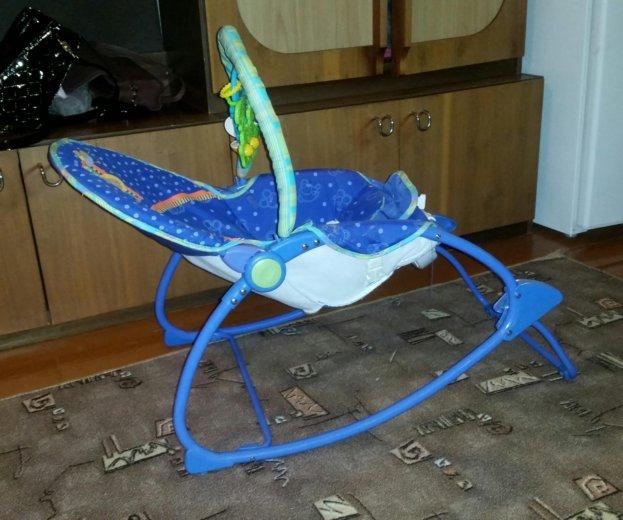 Кресло - качалка шезлонг fisher price. Фото 2. Москва.