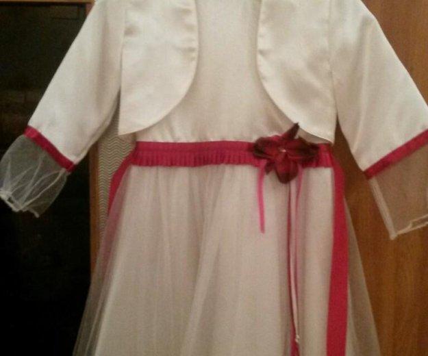 Нарядное детское платье с пиджаком. Фото 1. Киров.