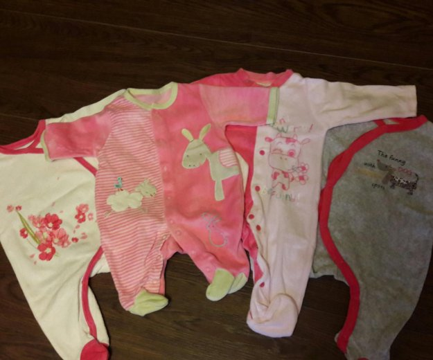Одежда для девочки 0-3 месяца. Фото 2. Санкт-Петербург.