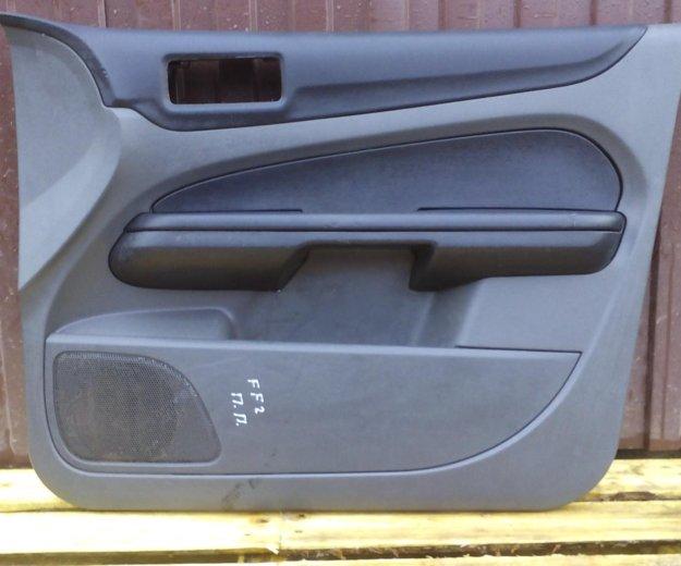 Передние обшивки дверей форд фокус 2 ford focus 2. Фото 2. Сыктывкар.