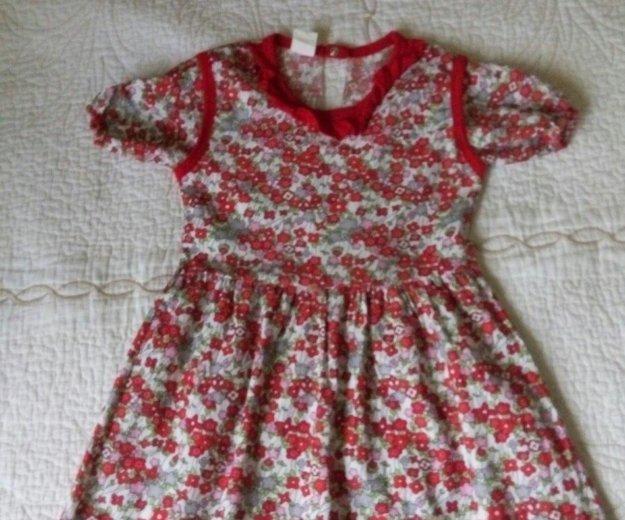 Платье новое, хлопок ,р. 110 см. Фото 1. Иваново.