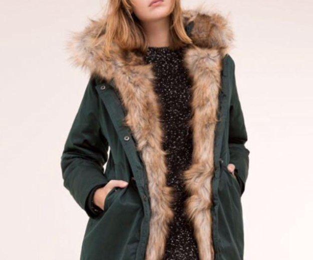 Тёплая зимняя куртка - пальто - парка. Фото 1. Москва.