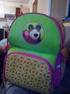 Рюкзак школьный б/у. Фото 1.