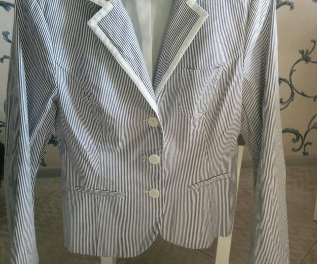 Пиджак серый. Фото 1. Щербинка.
