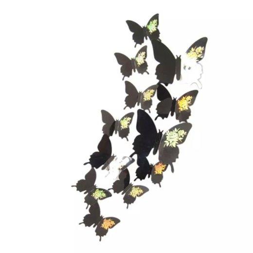 Бабочки наклейки. Фото 1. Буйнакск.