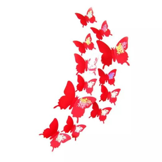 Бабочки наклейки. Фото 2. Буйнакск.