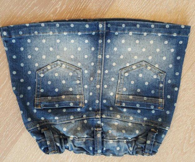 Джинсовая юбка для девочки. Фото 1. Краснодар.