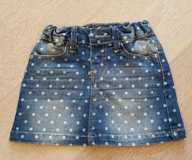 Джинсовая юбка для девочки. Фото 2. Краснодар.