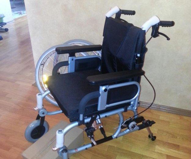 Коляска инвалидная новая. Фото 4. Подольск.