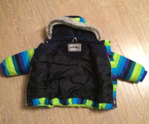 Куртка зимняя на мальчика. Фото 2.