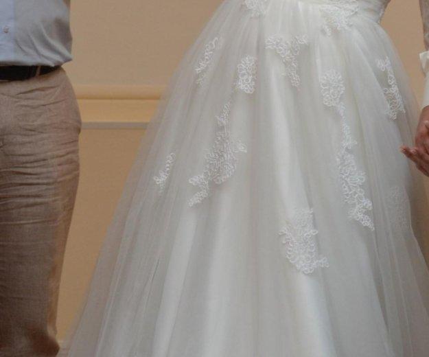 Свадебное платье ania со шлейфом. Фото 2. Краснодар.