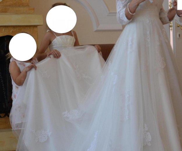 Свадебное платье ania со шлейфом. Фото 3. Краснодар.
