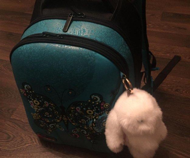 Брелок-кролик, натуральный мех. Фото 4. Москва.