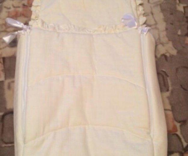 Конверт-одеялко на выписку. Фото 4. Электросталь.