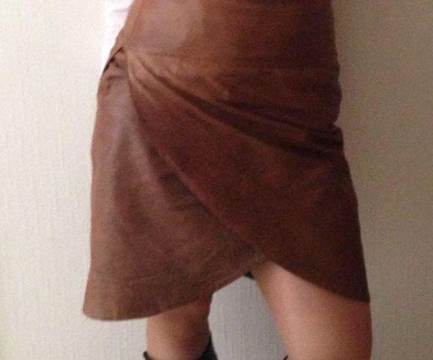 Кожаная юбка. Фото 1. Санкт-Петербург.