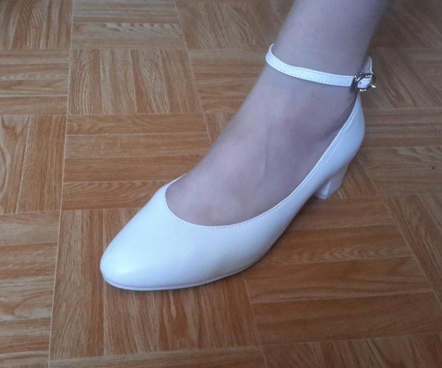 Белые туфли новые. Фото 1. Волгоград.