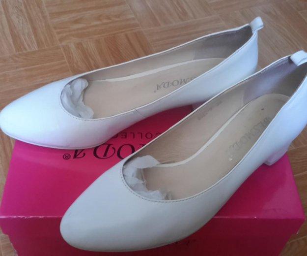 Белые туфли новые. Фото 2. Волгоград.