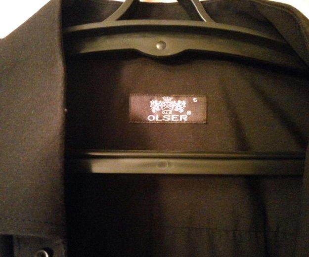Рубашка черная. Фото 2. Москва.