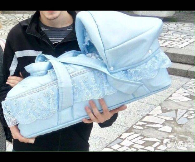 Люлька -переноска для новорождённого. Фото 1. Санкт-Петербург.