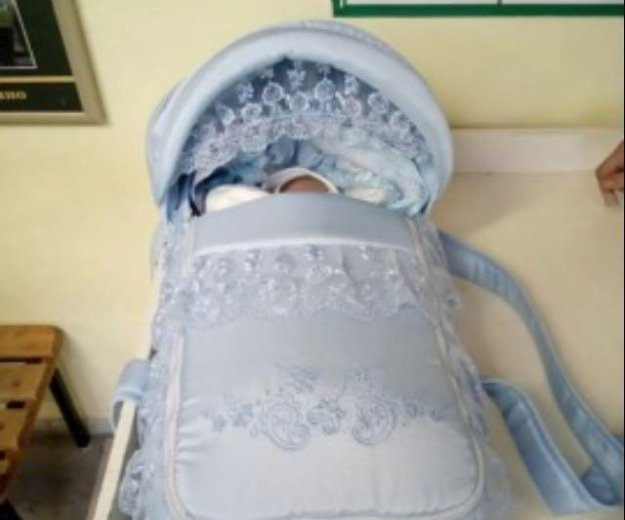 Люлька -переноска для новорождённого. Фото 2. Санкт-Петербург.