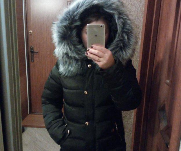 Новая зимняя куртка р-р 46. Фото 1.
