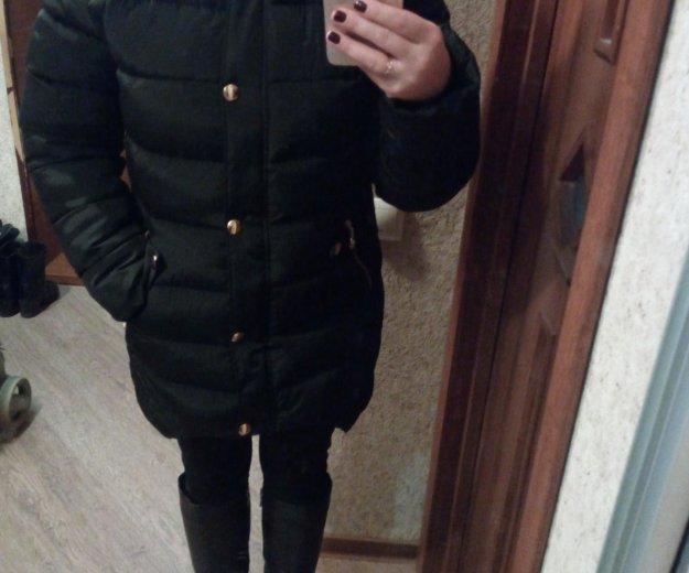 Новая зимняя куртка р-р 46. Фото 4.