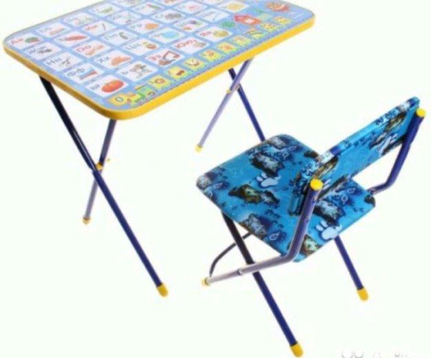 Столик и стул детские комплект новые. Фото 1. Сочи.