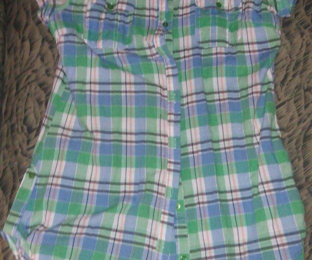 Рубашка клетчатая. Фото 1. Самара.