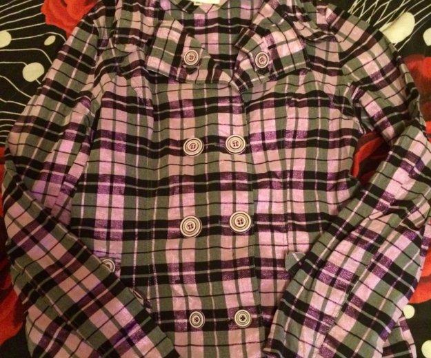 Рубашка в клетку р.xxl. Фото 1. Ростов-на-Дону.