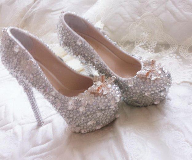 Туфли свадебные. Фото 1. Гудермес.