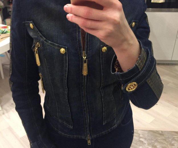 Куртка джинсовая утепленная gizia. Фото 3. Москва.