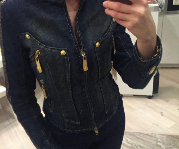 Куртка джинсовая утепленная gizia. Фото 4. Москва.