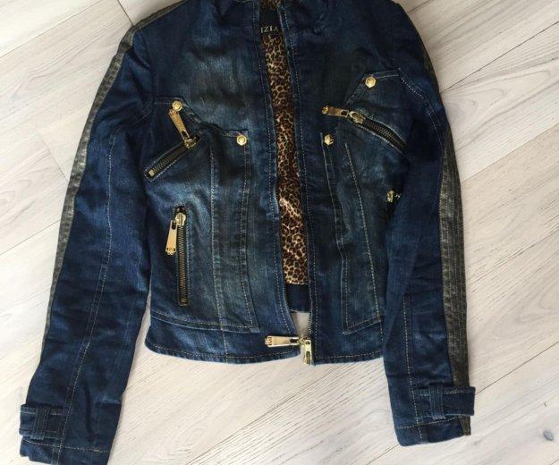 Куртка джинсовая утепленная gizia. Фото 1. Москва.