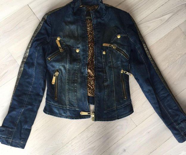 Куртка джинсовая утепленная gizia. Фото 2. Москва.
