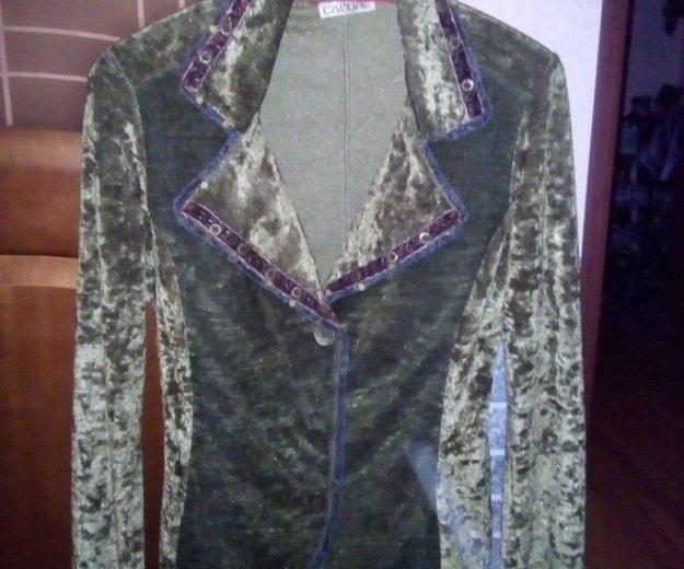 Продам пиджак женский из бархата. Фото 1. Королев.