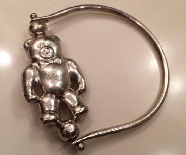 Серебряная погремушка chopard. Фото 3. Москва.