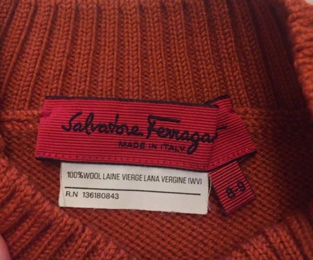 Salvatore feragamo свитер оригинал. Фото 4. Москва.