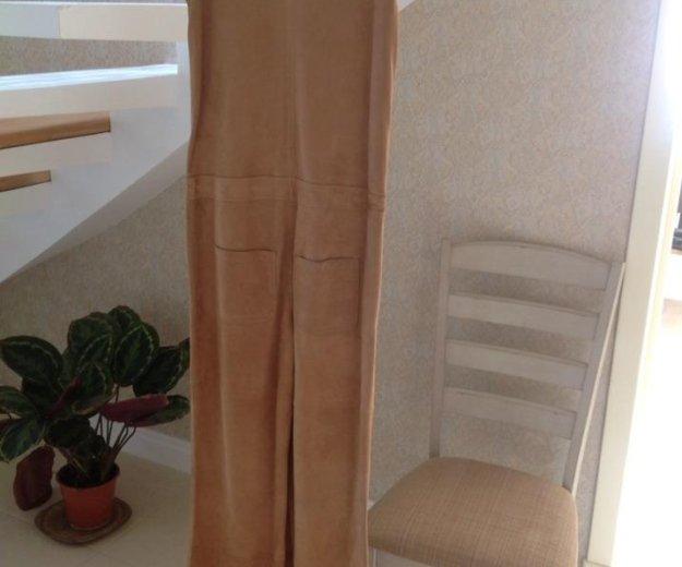 Комбинезон stefanel (новый, замша). Фото 2. Краснодар.