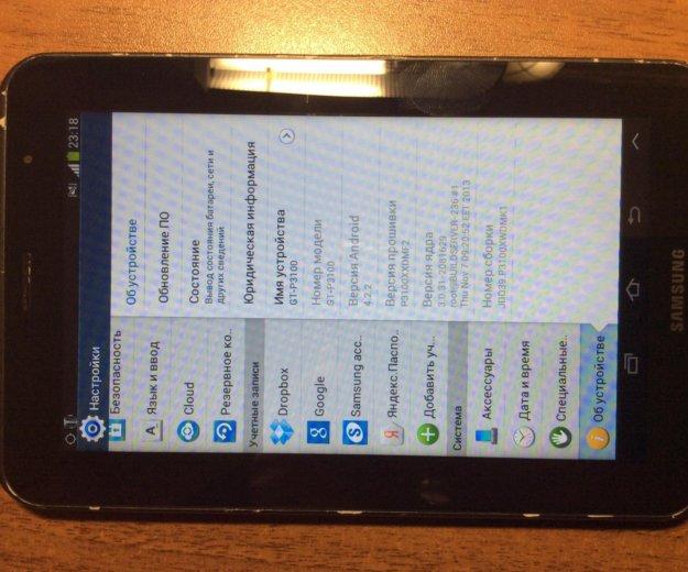 Samsung gt-p3100 3g  8gb. Фото 3.