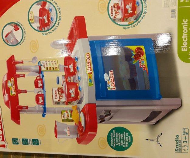 Игрушечная детская кухня с посудой. Фото 2. Москва.