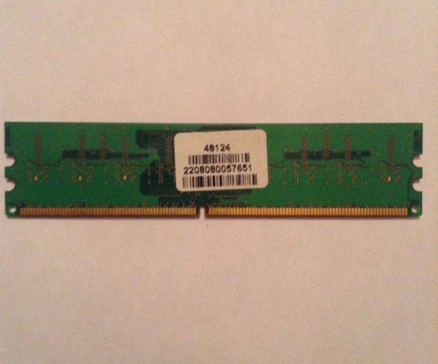 Оперативная память ddr2 1gb. Фото 2.