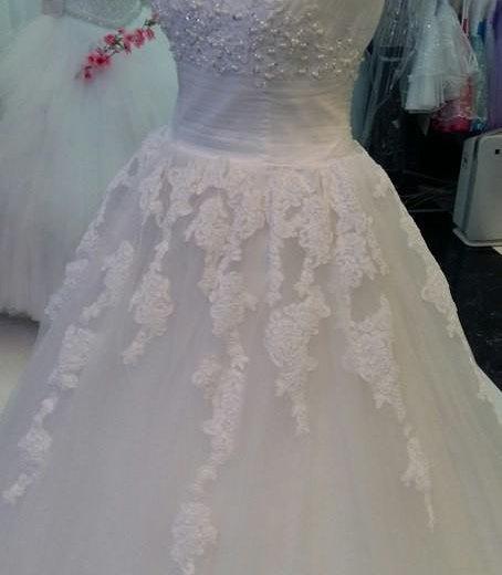 Свадебное платье 40 /44. Фото 4. Чехов.