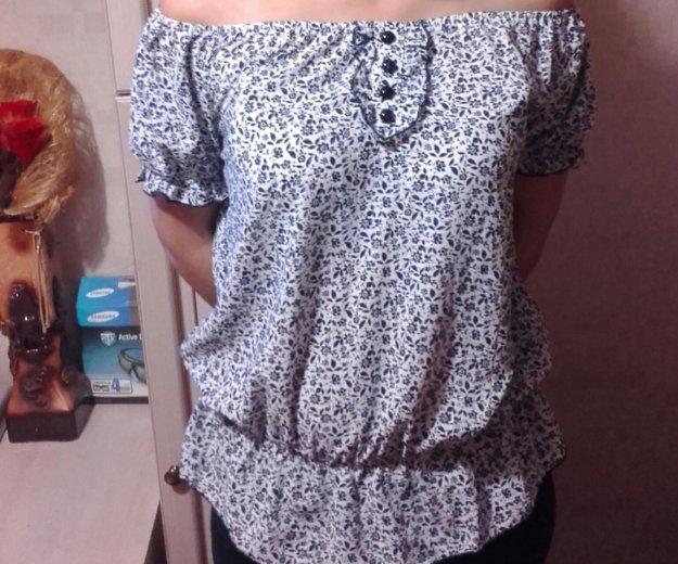 Блузка. Фото 1. Полярный.