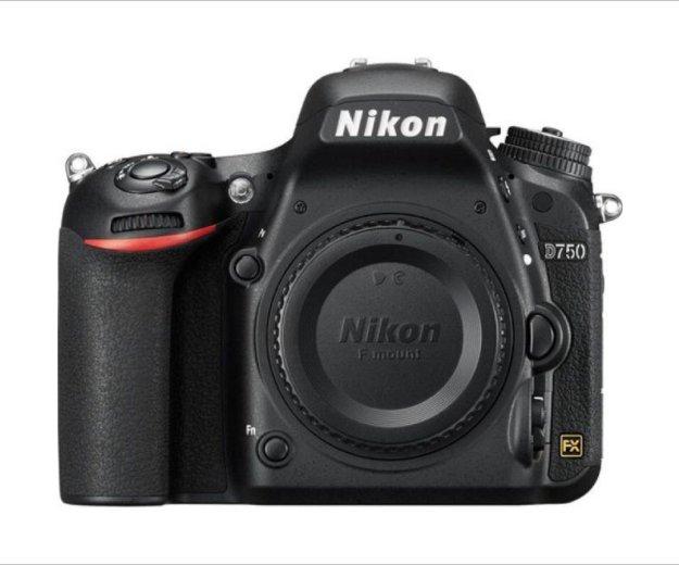 Nikon d750 bodi. Фото 1.