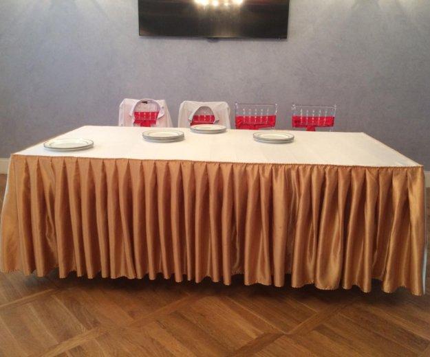Аренда банкетного текстиля на свадьбу. Фото 4. Москва.
