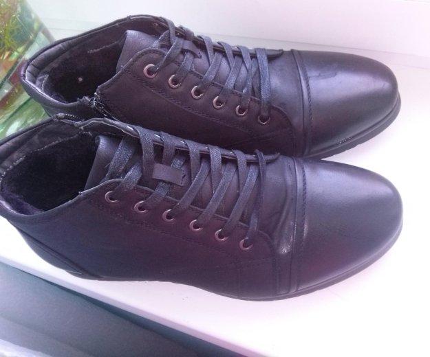 Ботинки зимние с мехом. Фото 1.